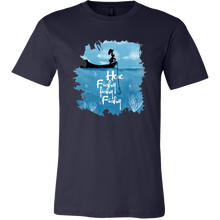 Here Fishy Fishy Cute Fish Fisherman Buddy T-Shirt