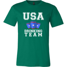 USA Drinking Team,America Beer Lovers Drinking T-shirt
