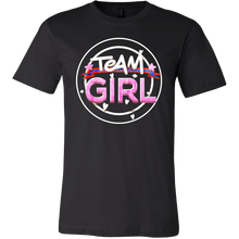 Team Girl Baby Shower Gender Reveal Pregnancy T Shirt