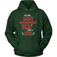It's the most wonderful time for a beer quote Hoodie