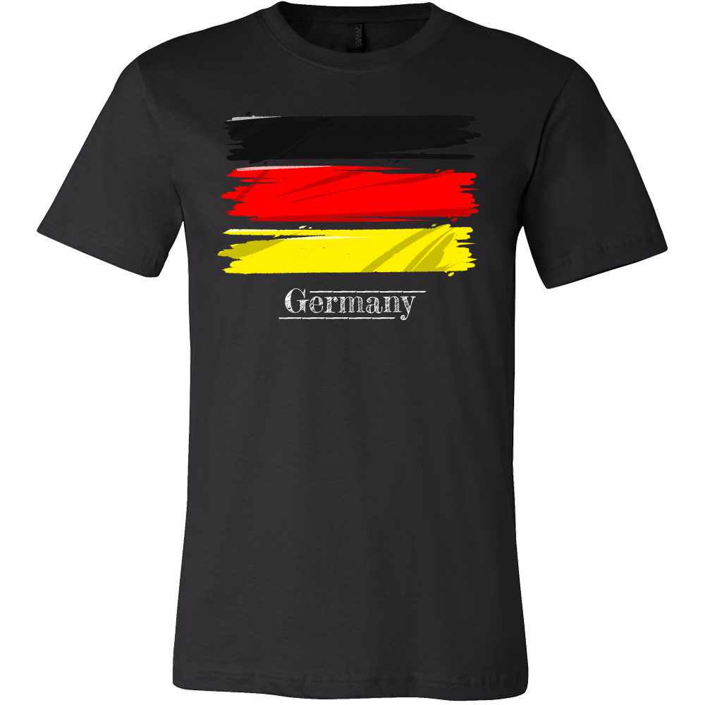 Germany, German Flag Vintage Retro Distressed T-shirt