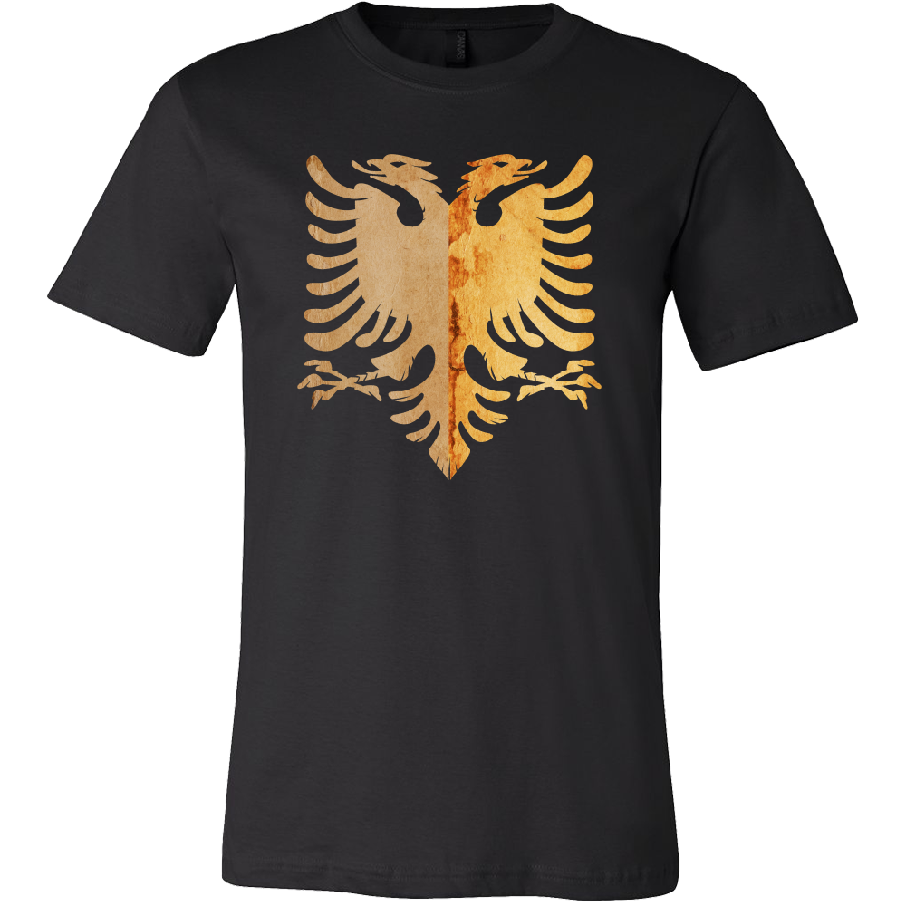 Albania Eagle Animal Bird Lover Crest T-shirt