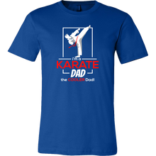 Cool Karate Dad, Dads Karate Martial Arts T-shirt