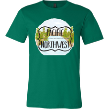 Beautiful Coastline Pacific Northwest Holiday Gift T-shirt