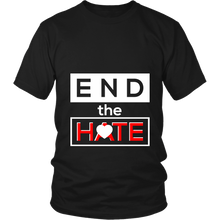 End the Hate,Awareness Bullying,Racism Tee Shirt