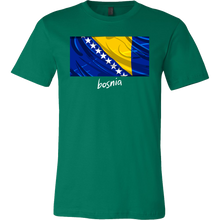 Bosnia Proud Vintage World Flag T-shirt