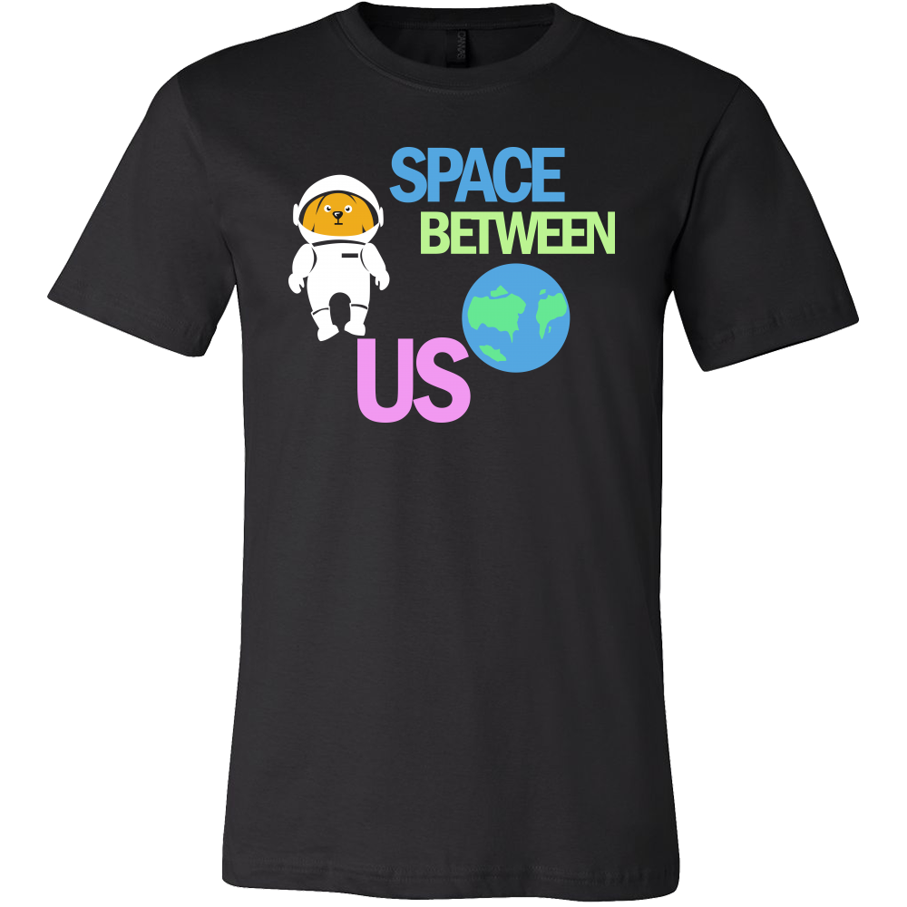 Space Between Us Outer Space Astronaut T-shirt