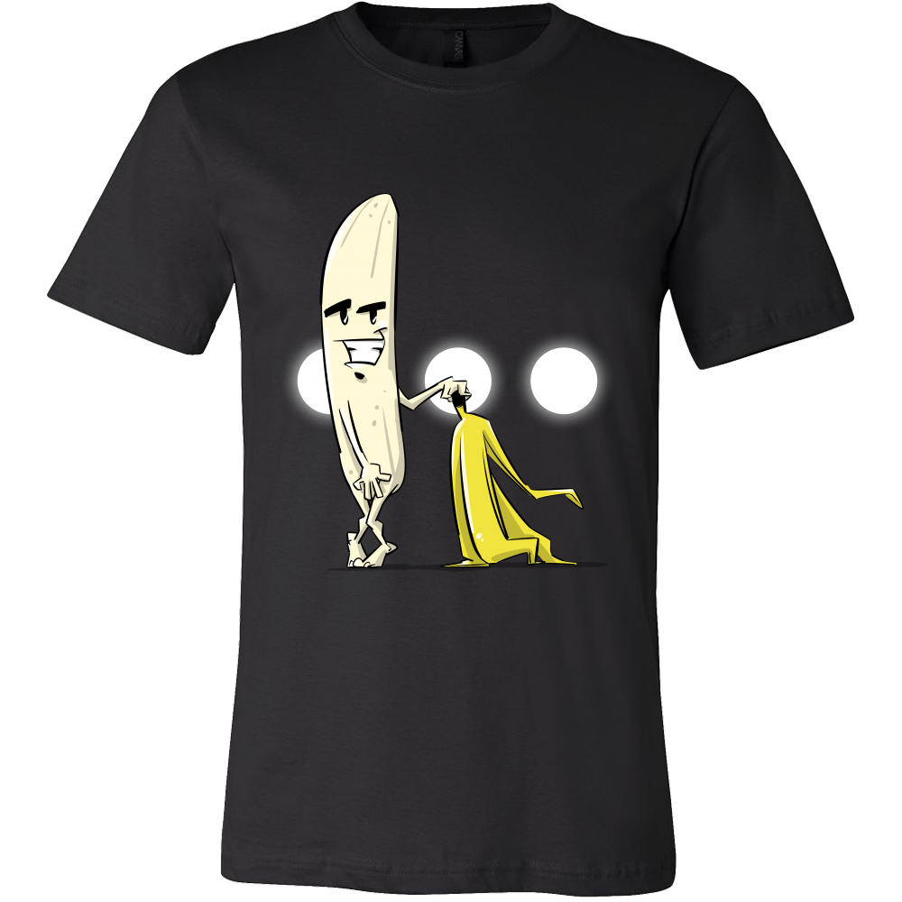 Naked Banana Silly Banana with No Clothes Tshirt