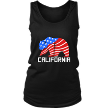 California Bear U.S.A Flag American Pride Tank and Hoodie