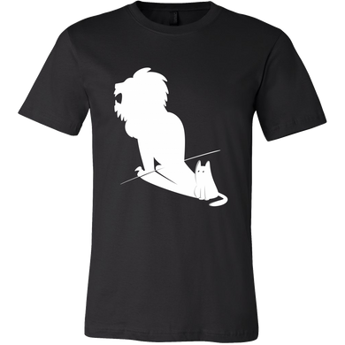 Potential Lion Shadow and Cat Animal Tshirt
