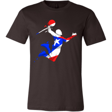 Puerto Rico Tshirts Basketball Player Flag tshirt