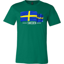 I Love Sweden, Swedish Flag Colors, Pride, Country Gift T-shirt