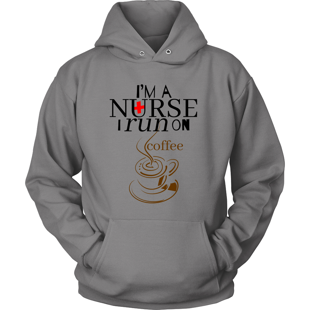 Funny Nurses Hoodie - Hilarious Quote on Cotton Hoodie