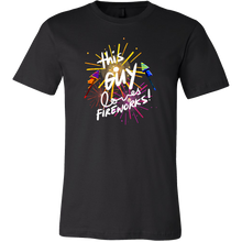 Loves Fireworks Party 4th Of July T Shirt