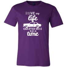Live My Life Mile At A Time Vintage Car Auto Collectors T Shirt