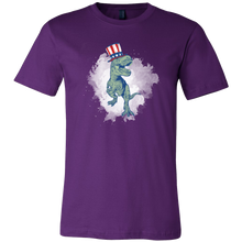 T-Rex Patriotic USA Dinosaur Animal Love Dinos T-shirt
