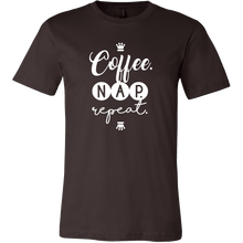 Coffee, Nap, Repeat Novelty Tshirt Gift For Coffee Lovers
