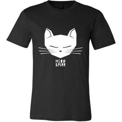 Meow and Purr Pet Cat Kitty Tshirt