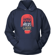 Funny Hoodie - Mama Needs Coffee Hilarious Design