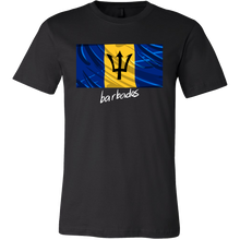 Barbados Graphic Patriotic Vintage Flag T-shirt