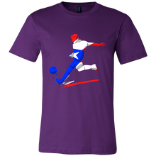 Colorful Soccer Flag Puerto Rico Tshirt