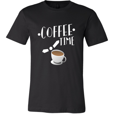 Coffee Time Quote Coffee Novelty Tshirt For Coffee Lovers