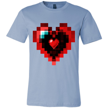 Graphic Heart Love Valentines Day Tshirt