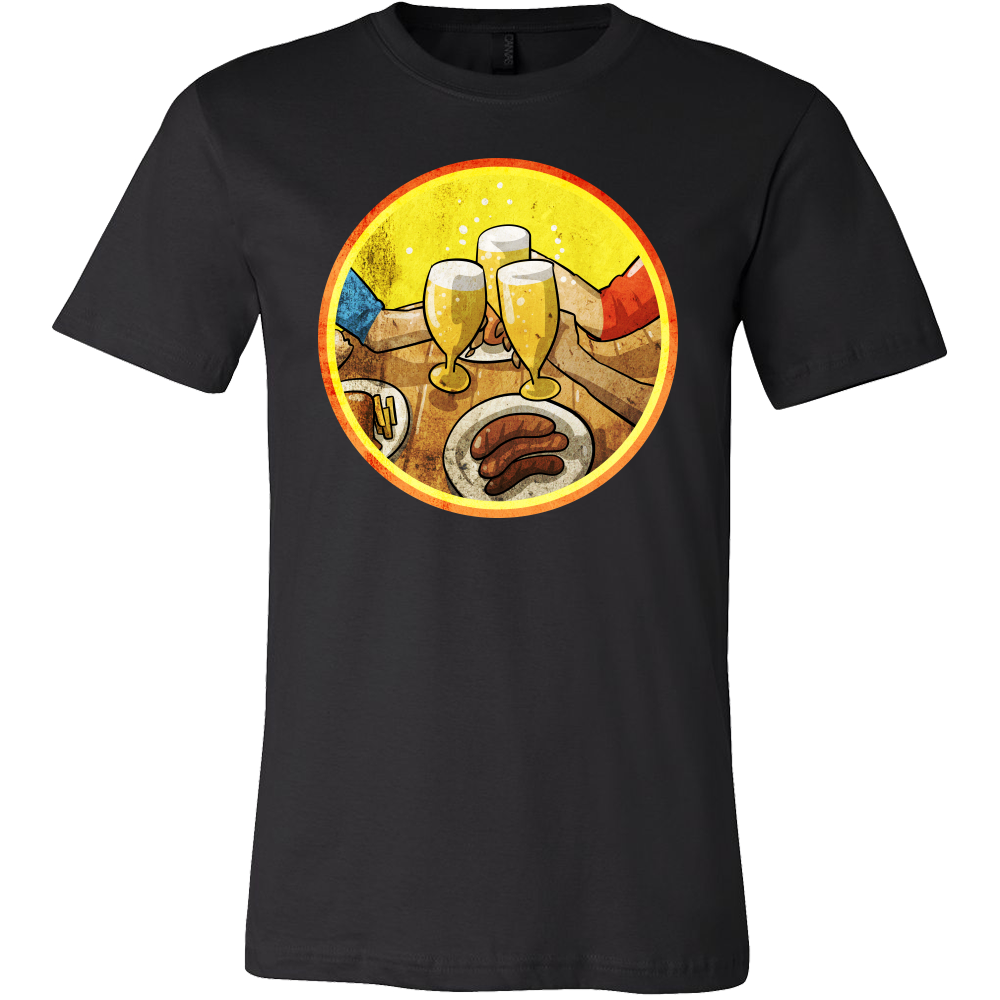 Cracking a Cold One With The Boys Party Beer Drinking T Shirt