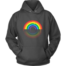 Rainbow Coloured Design Hoodie