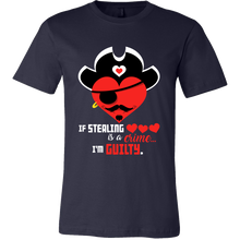 If Stealing Hearts Is a Crime - I'm Guilty Heart Tshirt