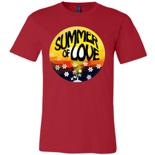 Summer Of Love Summertime Sunset Holiday T-shirt