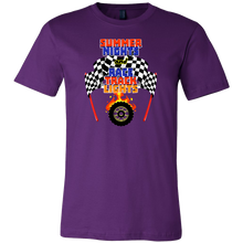 Summer Nights Race Track Lights Racing Racers T-shirt