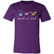 Friends Not Food Vegetarian Vegan Animal T-shirt