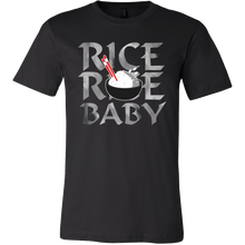Silly Asian Cuisine - Rice Rice Baby stamped Novelty T-Shirt
