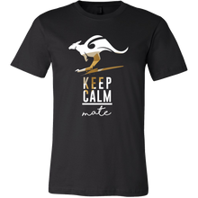AUSTRALIA T-shirt Australian Keep Calm Kangaroo Animal Tee shirt