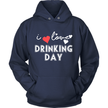 I Love Day Drinking Quote on Funny Saying Hoodie