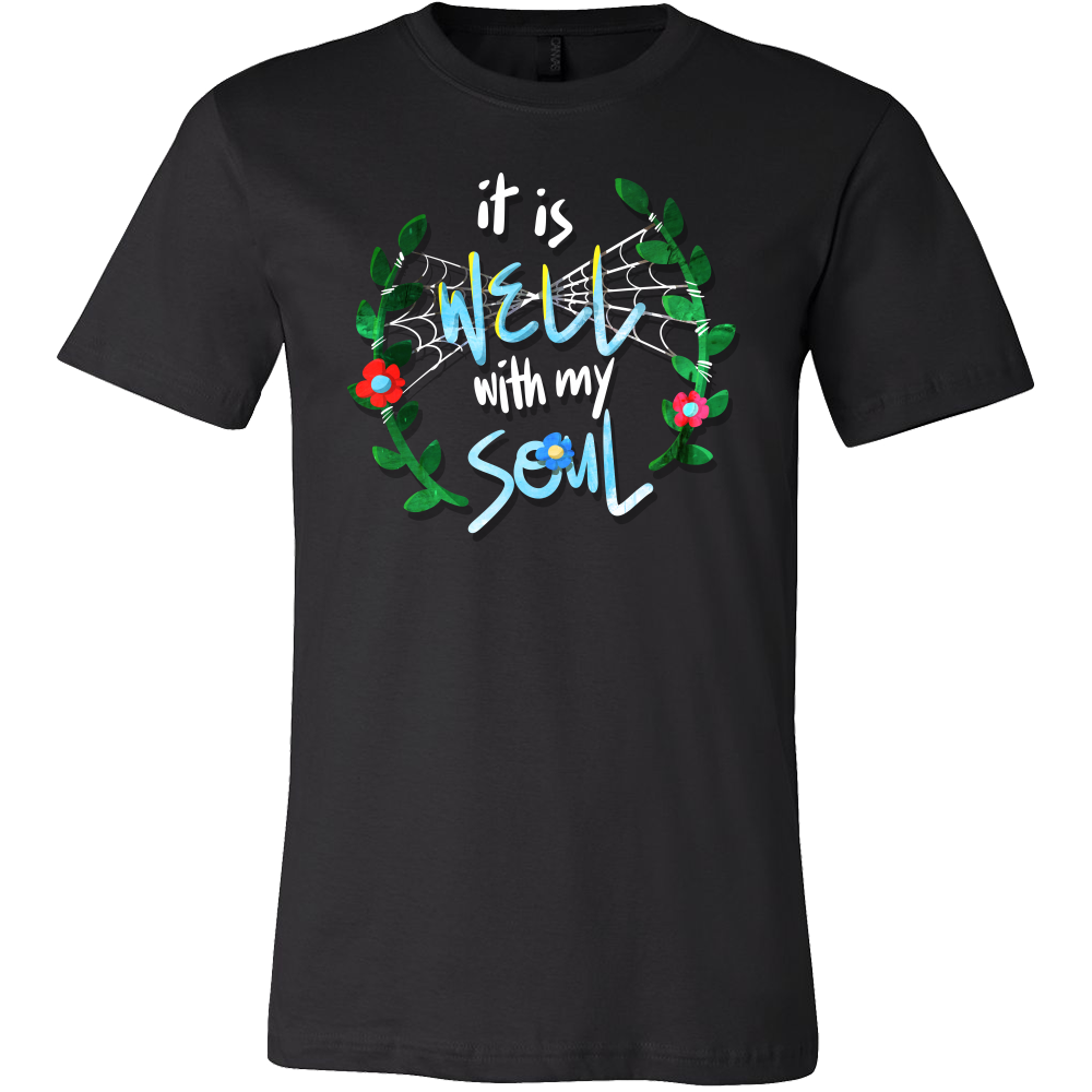 Inspirational and Spiritual Christ Believers - My Soul Christian Faith T-Shirt