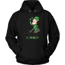 Irish Leprechaun Design St Patricks Day Hoodie