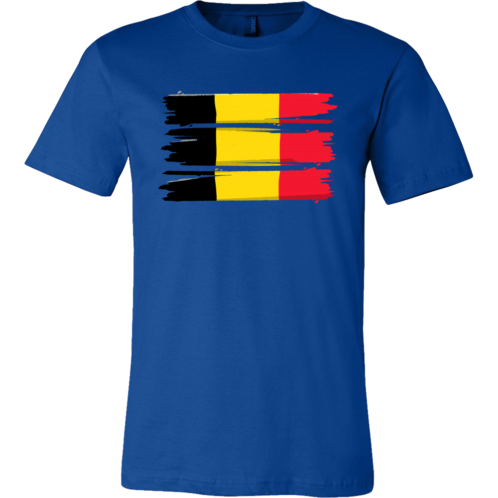 Belgian, Belgium Europe Patriotic Country Flag T-shirt