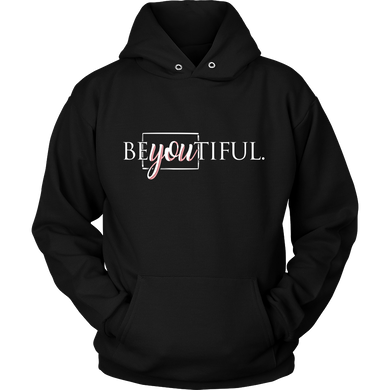BEyouTIFUL Quote Beauty Hoodie
