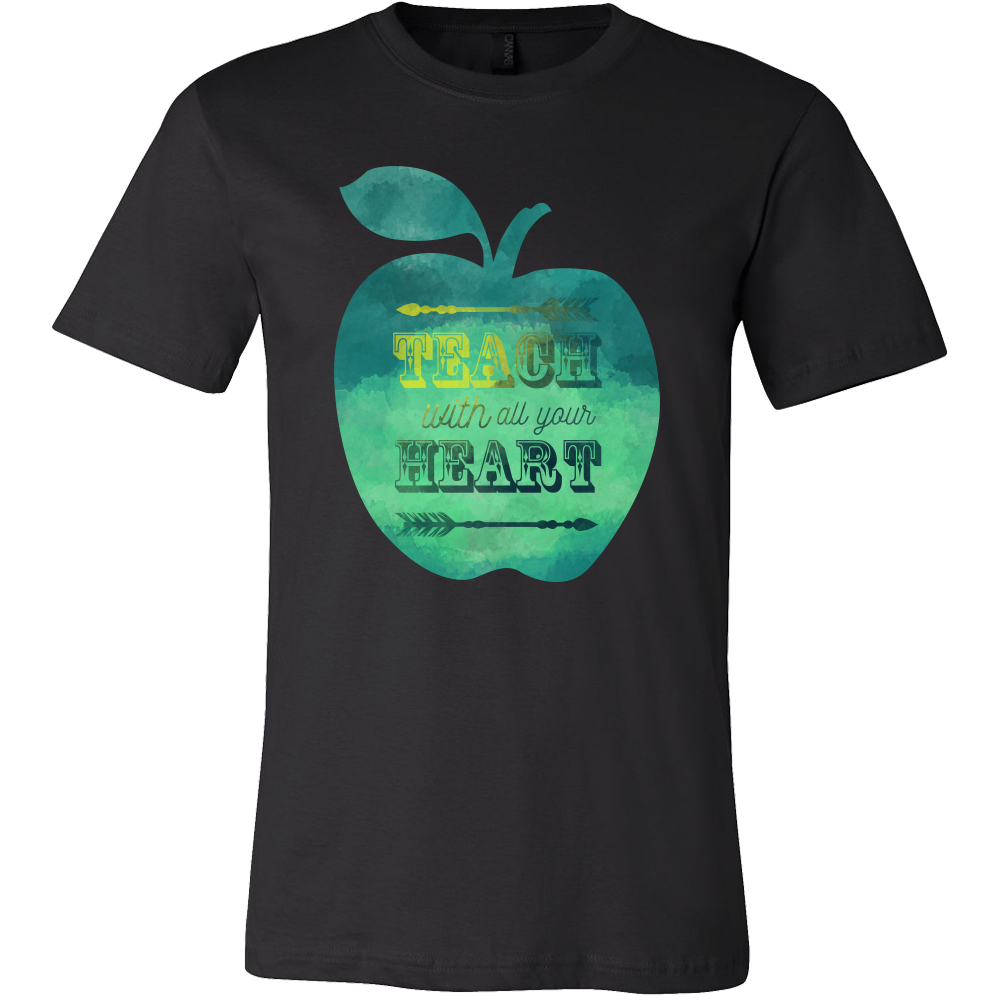 Teaching is a Work Of Heart, Love to Teach T-shirt