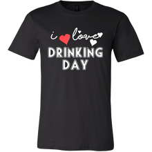 I Love Day Drinking Quote on Funny Saying Tshirt