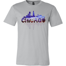 Chicago City Skyline Landmark U.S.A Souvenir Travel T-shirt