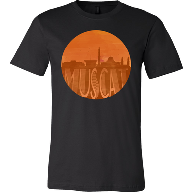 Muscat Skyline Horizon Sunset Love Oman Gift Shirt