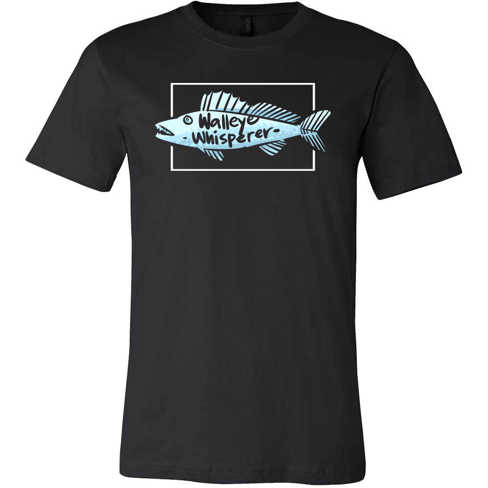 Walleye Whisperer,Fisherman,Fishing Fish Lover T-shirt