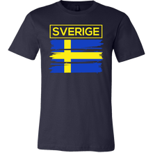 I Love Sweden, Swedish Flag Colors, Sverige Country Gift T-shirt