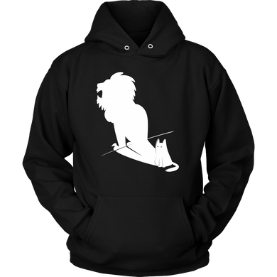 Potential Lion Shadow and Cat Animal Hoodie