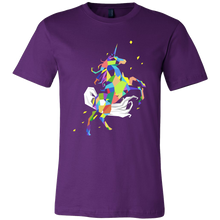 Graphic Rainbow Colored Unicorn Time to be a Unicorn Tshirt