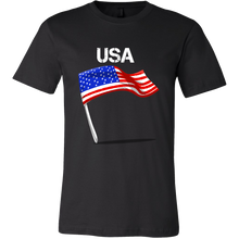 Favorite American USA Flying Flag Novelty Tee shirt