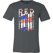 RED Friday, Military, Remember Veteran U.S.A Flag Tee Shirt